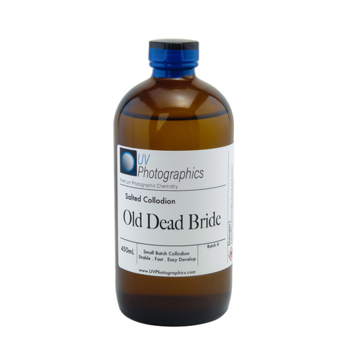 Old Dead Bride Salted Collodion 450mL