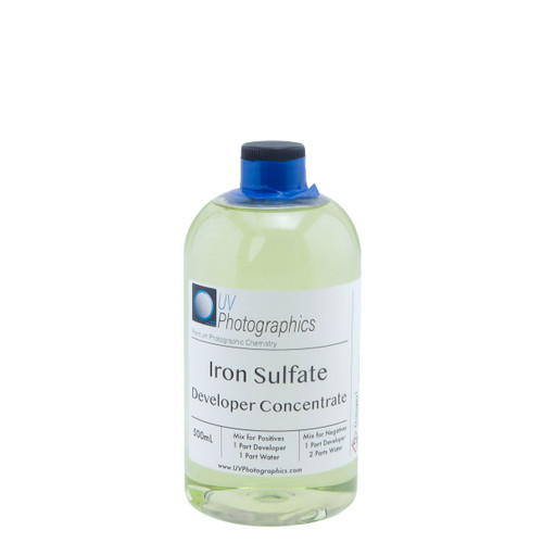 Iron Sulfate Developer for Wet Plate Collodion 500mL