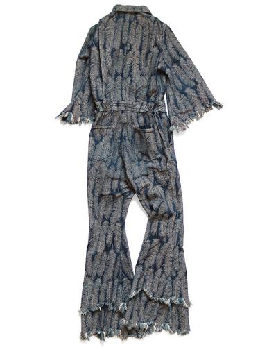 Picture No.1 of KAPITAL 12Oz Feather Denim Jumpsuit KR2002OP01