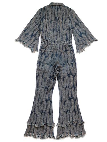 Picture No.3 of KAPITAL 12Oz Feather Denim Jumpsuit KR2002OP01