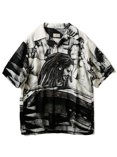Picture No.1 of KAPITAL Silk Rayon Hustler pt Aloha Shirt K1905SS152EK-903