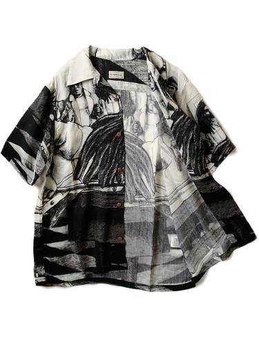 Picture No.2 of KAPITAL Silk Rayon Hustler pt Aloha Shirt K1905SS152EK-903
