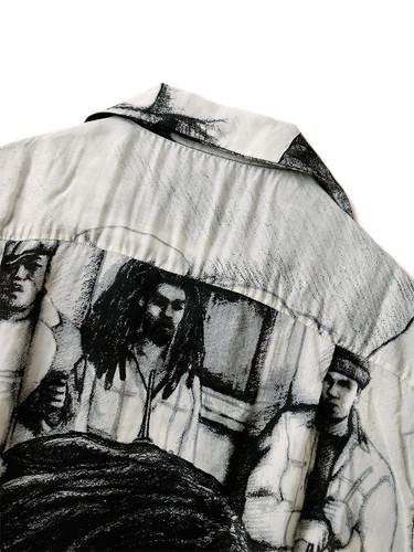 Picture No.5 of KAPITAL Silk Rayon Hustler pt Aloha Shirt K1905SS152EK-903