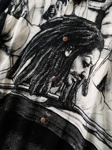 Picture No.7 of KAPITAL Silk Rayon Hustler pt Aloha Shirt K1905SS152EK-903