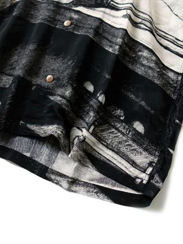 Picture No.8 of KAPITAL Silk Rayon Hustler pt Aloha Shirt K1905SS152EK-903