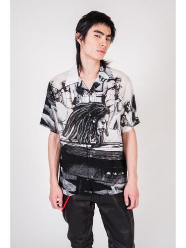 Picture No.9 of KAPITAL Silk Rayon Hustler pt Aloha Shirt K1905SS152EK-903