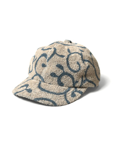 Picture No.1 of KAPITAL IRAGO Pile Arabesque Pattern Baseball CAP K2004XH526