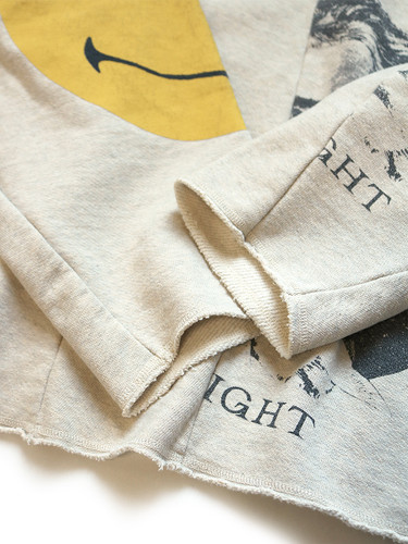 Picture No.9 of KAPITAL TOP Fleece Reconstruction Remake BIG Sweat K2009LC041