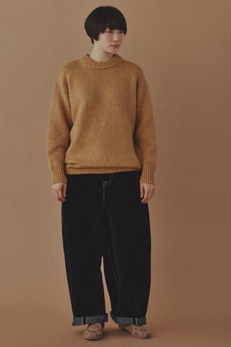 Picture No.1 of minä perhonen leave Knit Pullover 2020-21 a / w YA8474