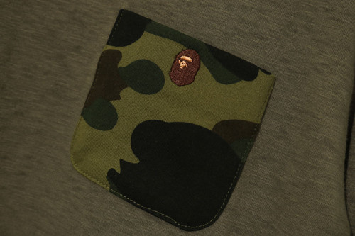 Picture No.2 of BAPE 1ST CAMO POCKET L/S TEE ONEPIECE 1H30-235-503