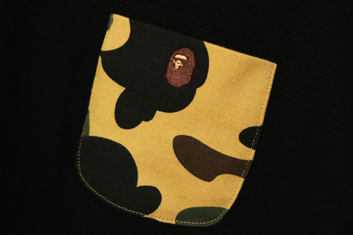 Picture No.4 of BAPE 1ST CAMO POCKET L/S TEE ONEPIECE 1H30-235-503
