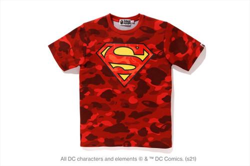 Picture No.1 of BAPE [BAPE X DC] SUPERMAN COLOR CAMO TEE 1H23-209-910
