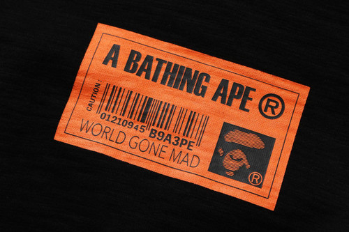 Picture No.5 of BAPE STAND COLLAR LOOSE FIT SWEAT 1H30-113-004
