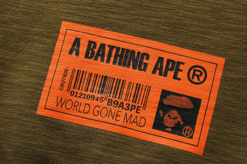 Picture No.10 of BAPE STAND COLLAR LOOSE FIT SWEAT 1H30-113-004