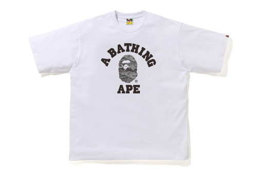 Picture No.3 of BAPE DESERT CAMO COLLEGE RELAXE FIT TEE 1H30-110-037