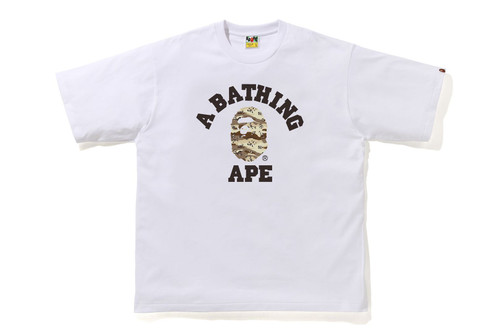 Picture No.4 of BAPE DESERT CAMO COLLEGE RELAXE FIT TEE 1H30-110-037