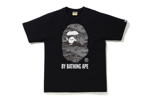 Picture No.1 of BAPE DESERT CAMO BY BATHING APE RELAXE FIT TEE 1H30-110-039