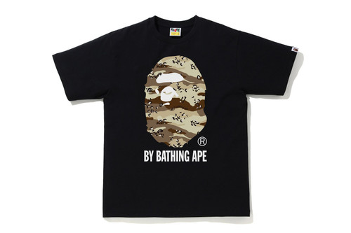 Picture No.2 of BAPE DESERT CAMO BY BATHING APE RELAXE FIT TEE 1H30-110-039
