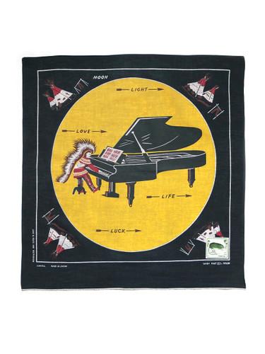 Picture No.1 of KAPITAL fastcolor Selvedge Bandana (PIANO MOON 4L) K2009XG515