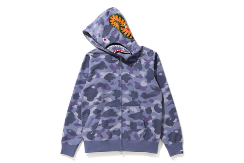 Picture No.2 of BAPE COLOR CAMO SHARK FULL ZIP HOODIE 1H30-215-504