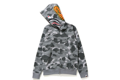 Picture No.5 of BAPE COLOR CAMO SHARK FULL ZIP HOODIE 1H30-215-504