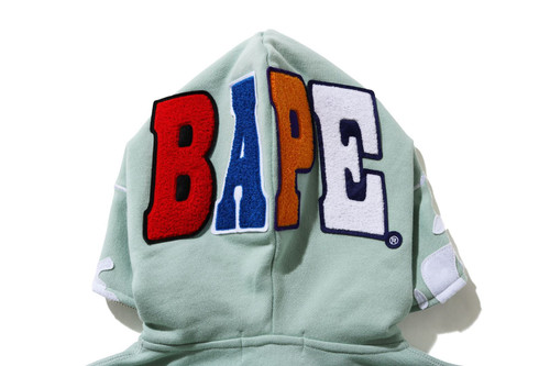 Picture No.6 of BAPE 2ND APE FULL ZIP HOODIE 1H30-215-506