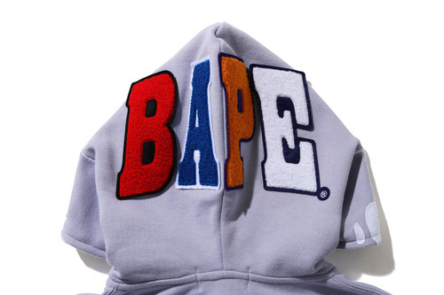 Picture No.9 of BAPE 2ND APE FULL ZIP HOODIE 1H30-215-506