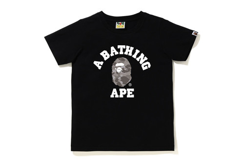 Picture No.1 of BAPE COLOR CAMO COLLEGE TEE 1H30-210-013