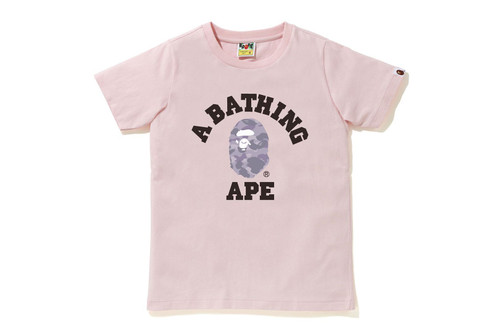 Picture No.4 of BAPE COLOR CAMO COLLEGE TEE 1H30-210-013