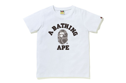 Picture No.5 of BAPE COLOR CAMO COLLEGE TEE 1H30-210-013