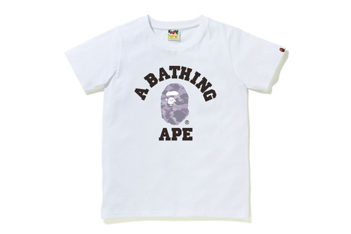 Picture No.6 of BAPE COLOR CAMO COLLEGE TEE 1H30-210-013
