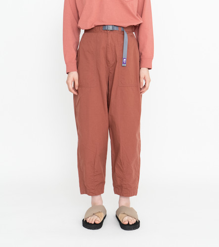 Picture No.11 of THE NORTH FACE PURPLE LABEL THE NORTH FACE PURPLE LABEL Ripstop Wide Cropped Pants NT5064N 5593
