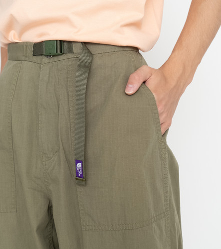 Picture No.15 of THE NORTH FACE PURPLE LABEL THE NORTH FACE PURPLE LABEL Ripstop Wide Cropped Pants NT5064N 5593