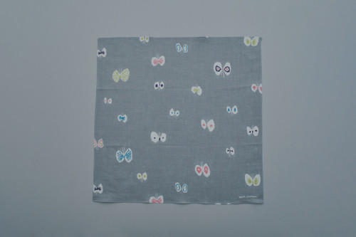 Picture No.2 of minä perhonen hana hane Handkerchief YS7368
