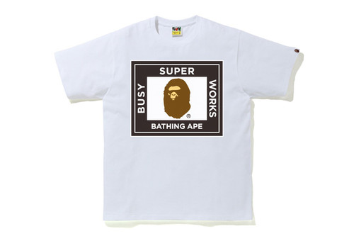 Picture No.2 of BAPE SUPER BUSY WORKS TEE 1H20-110-012