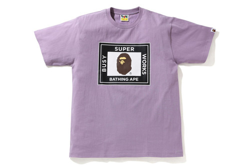 Picture No.3 of BAPE SUPER BUSY WORKS TEE 1H20-110-012