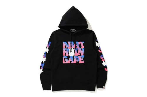 Picture No.1 of BAPE A BATHING APE PULLOVER HOODIE 1H30-114-003