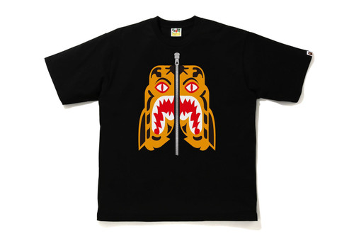 Picture No.1 of BAPE TIGER RELAXED FIT TEE 1H30-110-003