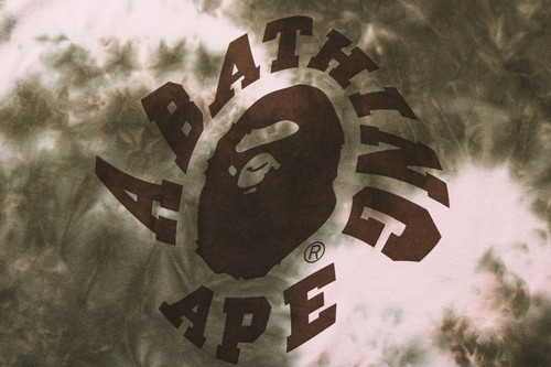 Picture No.3 of BAPE TIE DYE TEE ONEPIECE 1H30-235-510