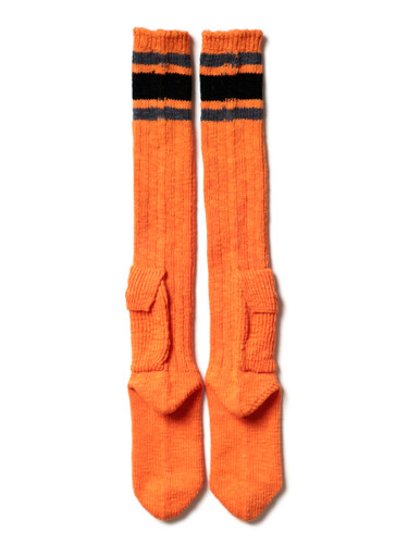 Picture No.6 of KAPITAL 56 Cotton Alpine Skaters Knee High K2103XG532