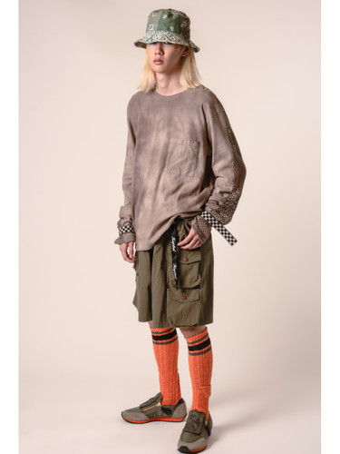 Picture No.11 of KAPITAL 56 Cotton Alpine Skaters Knee High K2103XG532