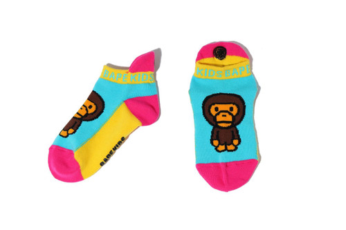 Picture No.1 of BAPE BABY MILO ANKLE SOCKS 2H30-383-609