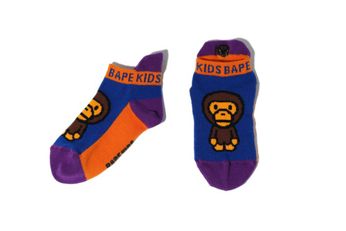 Picture No.3 of BAPE BABY MILO ANKLE SOCKS 2H30-383-609