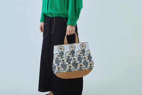 Picture No.1 of minä perhonen hanakaze marron bag 2021 s/s ZS9973