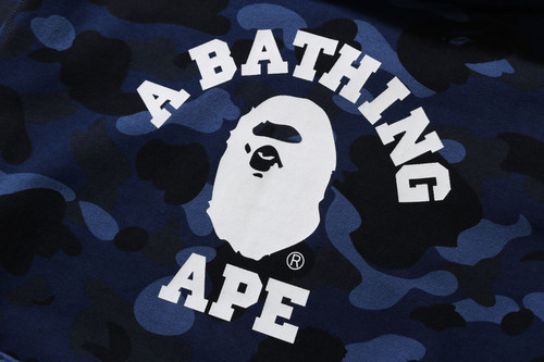 Picture No.6 of BAPE COLOR CAMO COLLEGE PULLOVER HOODIE -ONLINE EXCLUSIVE- 1H25-114-018