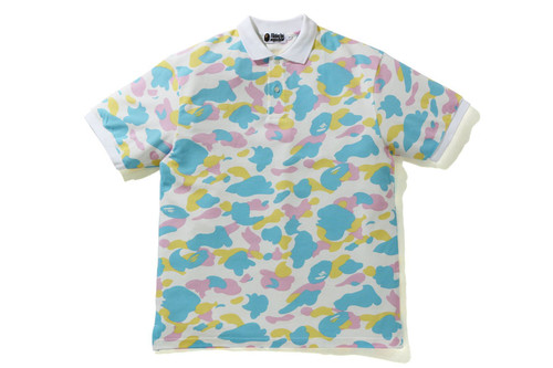 Picture No.3 of BAPE NEW MULTI CAMO RELAXED POLO 1H30-112-003