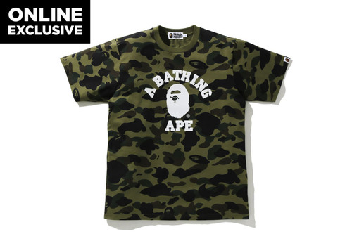 Picture No.1 of BAPE 1ST CAMO COLLEGE TEE -ONLINE EXCLUSIVE- 1H25-109-042