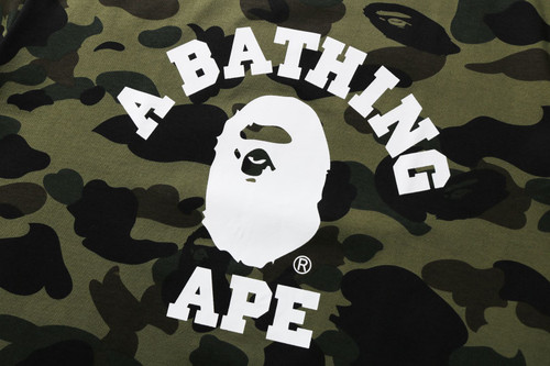 Picture No.2 of BAPE 1ST CAMO COLLEGE TEE -ONLINE EXCLUSIVE- 1H25-109-042