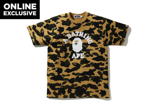 Picture No.3 of BAPE 1ST CAMO COLLEGE TEE -ONLINE EXCLUSIVE- 1H25-109-042