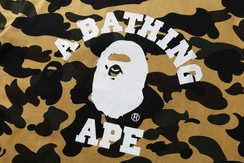 Picture No.4 of BAPE 1ST CAMO COLLEGE TEE -ONLINE EXCLUSIVE- 1H25-109-042